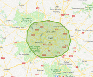 Zone intervention Ile de France DALAGNA SECURITE